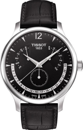 TISSOT TRADITION T063.637.16.057.00 PER. CALENDAR  - 1
