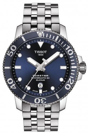 TISSOT Seastar 1000 Silicium T120.407.11.041.01  - 1