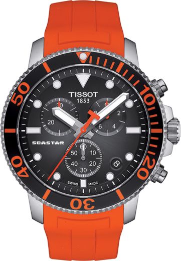 TISSOT SEASTAR 1000 CHRONO T120.417.17.051.01  - 1