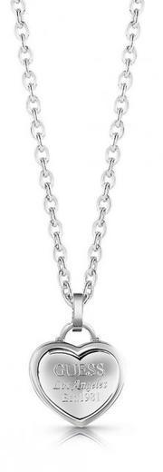Guess náhrdleník UBN28011 steel