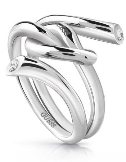 Guess prsten UBR29000 steel
