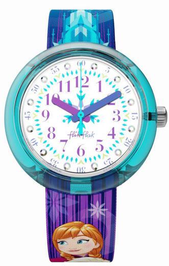 Flik Flak hodinky ZFLNP027 DISNEY FROZEN ELSA & ANNA  - 1