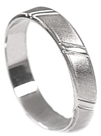 Zlaté snubní prsteny S21