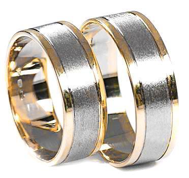 Zlaté snubní prsteny S27