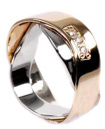 Zlaté snubní prsteny S31