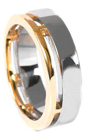 Zlaté snubní prsteny S34