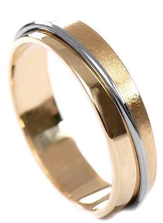 Zlaté snubní prsteny S25