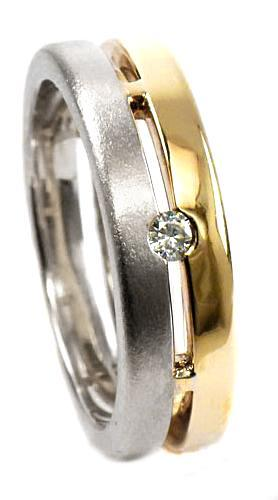 Zlaté snubní prsteny S33