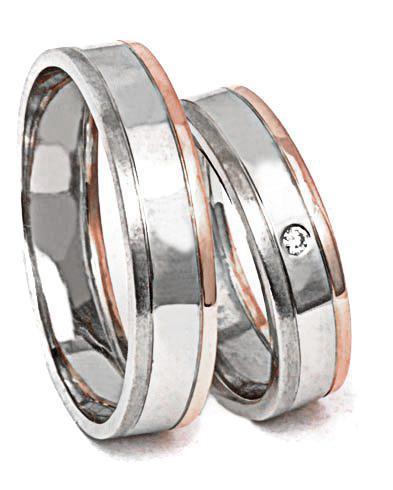 Zlaté snubní prsteny S63