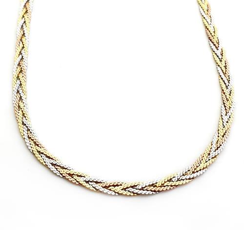 Zlatý náhrdelník 04373  - 1