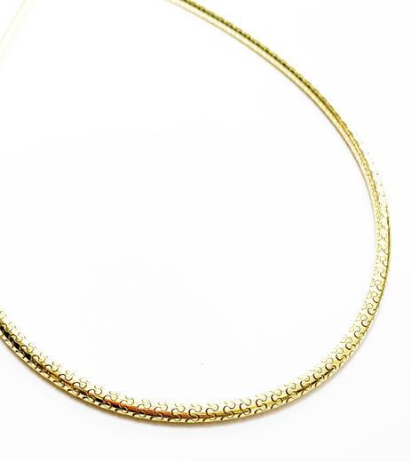 Zlatý náhrdelník 045899  - 1