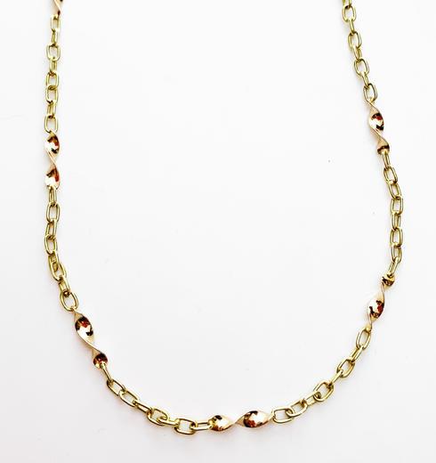 Zlatý náhrdelník 9.23  - 1