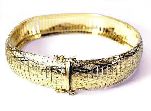 Zlatý náramek 07872  - 1