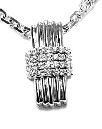 Zlatý přívěšek s diamanty P126