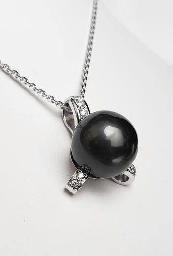 Zlatý přívěšek s tahitskou perlou TAHITI 023377  - 1