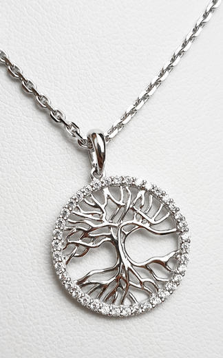 Zlatý přívěšek strom života 20947  - 1