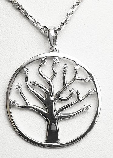 Zlatý přívěšek strom života 20946  - 1