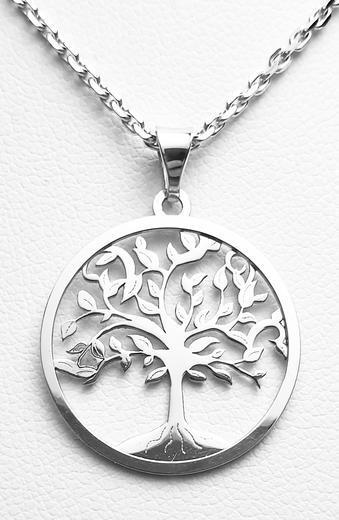 Zlatý přívěšek strom života 20946B  - 1