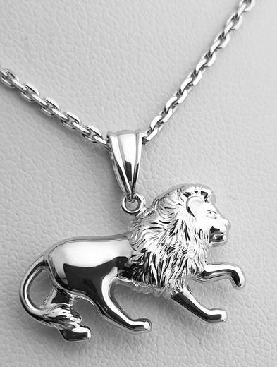 Zlatý přívěšek zlatý lev 242  - 1
