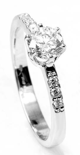 Zlatý prsten s diamanty A2611/2019  - 1