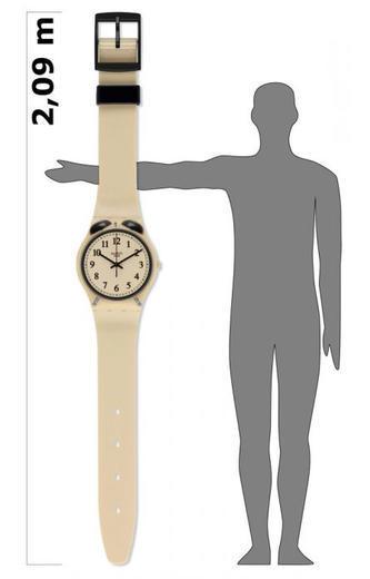 SWATCH nástěnné hodiny MGT105 MAXI SVEGLIA  - 2