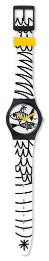 Swatch hodinky GB303 PESCIOLINI  - 2