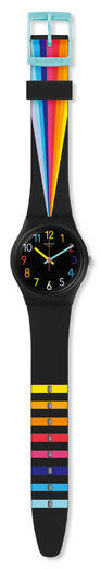 SWATCH hodinky GB311 FOUNTAIN OF COLORS  - 2