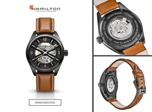 HAMILTON Khaki Field Skeleton Auto H72585535  - 2