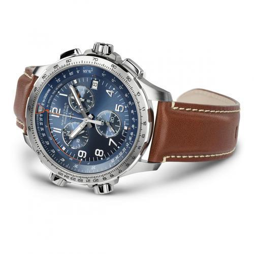 HAMILTON Khaki Aviation X-Wind GMT Chrono H77922541  - 2