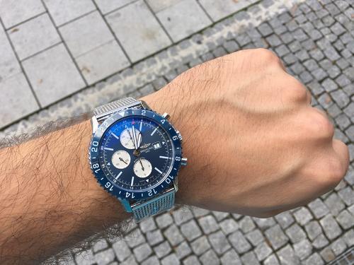BREITLING CHRONOLINER BLUE Y2431016/C970/152A  - 2