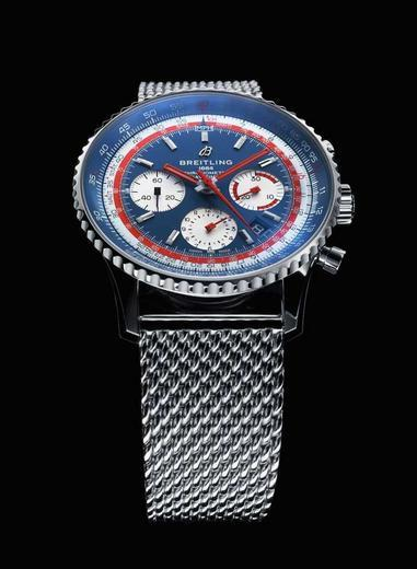 BREITLING NAVITIMER B01 Airline Edition PAN AM AB01212B1C1A1  - 2