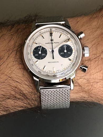 HAMILTON American Classic Intra-Matic Chronograph H H38429110  - 2