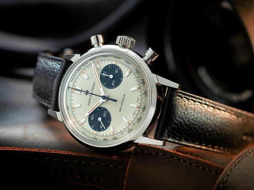 HAMILTON American Classic Intra-Matic Chronograph H H38429710  - 2