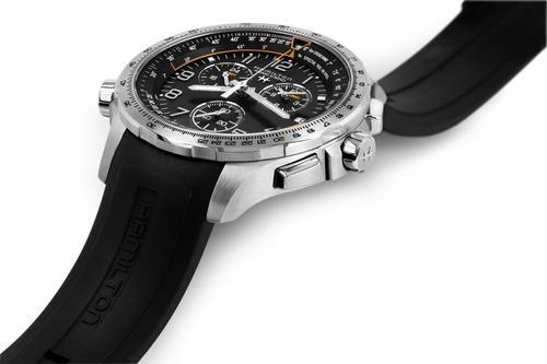 HAMILTON Khaki aviation X-Wind GMT Chrono H77912335  - 2