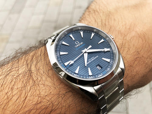 OMEGA Aqua Terra Master Chronometer 41 mm 220.10.41.21.03.001  - 2