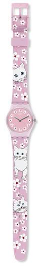 SWATCH hodinky LP156 MINOU MINOU  - 2