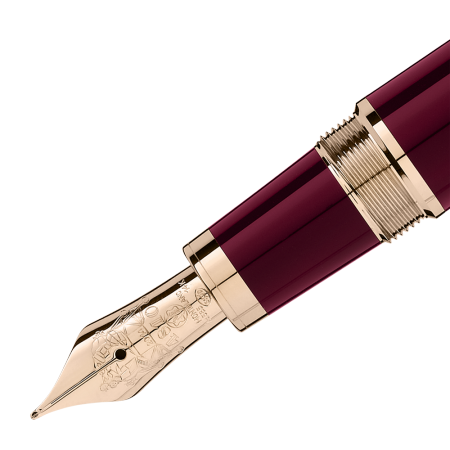 MONTBLANC John F. Kennedy Special Edition Burgundy Fountain Pen 118051  - 2