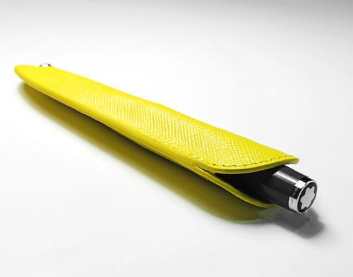MONTBLANC Sartorial Pouzdro na pero yellow 118703  - 2