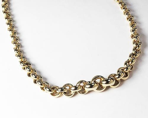 Zlatý náhrdelník 020849  - 2