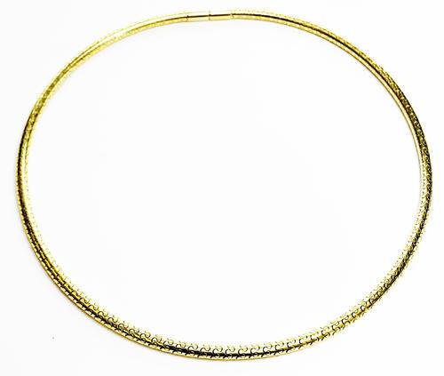 Zlatý náhrdelník 045899  - 2