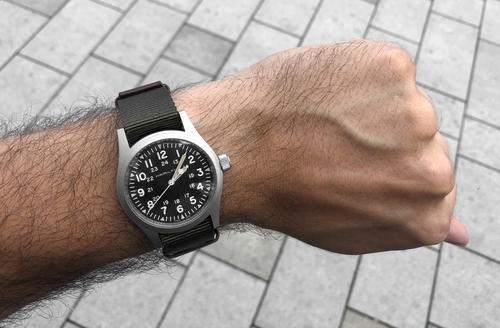 HAMILTON KHAKI FIELD mechanical H69439931  - 2