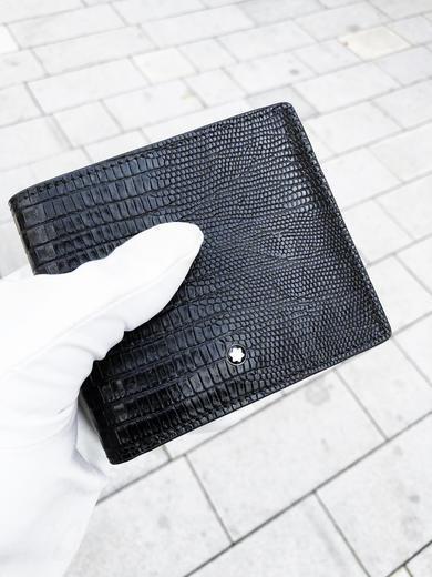 MONTBLANC peněženka Meisterstück Lizard 6cc 116293  - 2