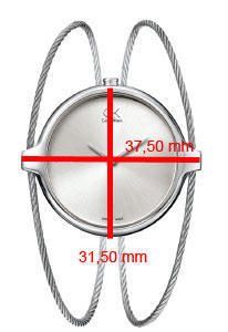 Calvin Klein Agile stříbrný číselník, PVD  - 2