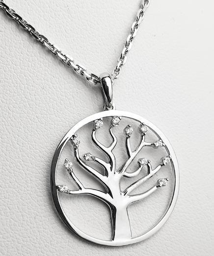 Zlatý přívěšek strom života 20946  - 2
