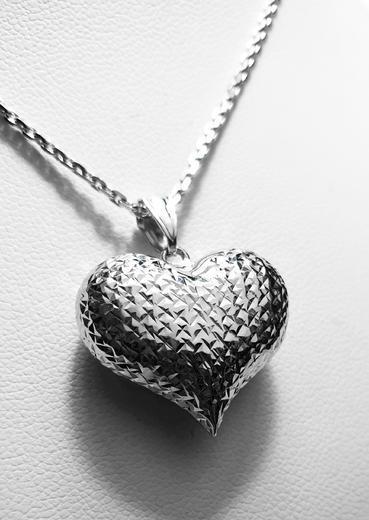 Zlatý přívěšek srdce 068227  - 2