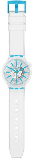 SWATCH hodinky SO27E105 BLUEINJELLY  - 2