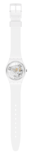 SWATCH hodinky SO31W102 SPOT TIME WHITE  - 2