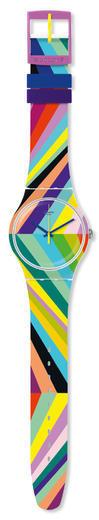 SWATCH hodinky SUOW155 PSYCADELIC  - 2
