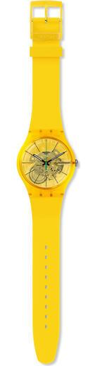 SWATCH hodinky SUOJ108 Bio Lemon  - 2