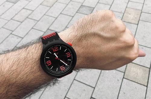 SWATCH hodinky SO27B102 BBBLOOD BIG BOLD  - 2